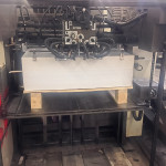 Used Mitsubishi D3000R-4+C four color 28 x 40 inch printing press for sale tower coater 2/2 or 4/0 convertible perfector