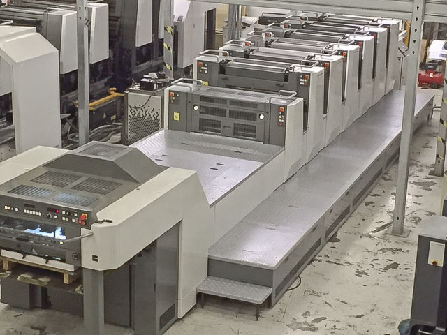 Used, Komori, LS, 629, CX, printing, press, for, sale, six, color, tower, coater