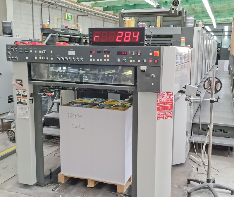 2008 Komori Lithrone LS1040P printing press for sale