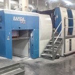 Used KBA 142-4SW2 four color offset printing press for sale 56 inch 2/2 4/0 perfector