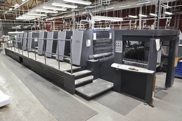 Used Heidelberg XL105-8P printing press for sale