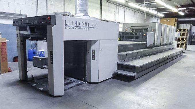 2008 komori lithrone ls440 cx superior graphic equipment llc rh superiorgraphic com Komori Lithrone 26 Used Heidelberg Printing Press